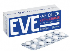 EVE QUICK 止痛药