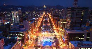 北海道, 雪祭, 大通會場