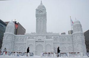 北海道雪祭, Hokkaido, snow