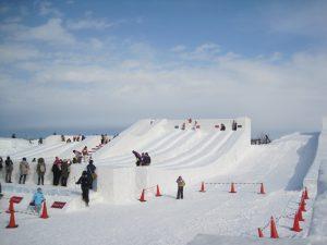 Tsudome會場, 滑雪場