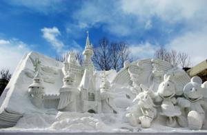 札幌, 雪鵰, 冰雕, 雪祭, 北海道
