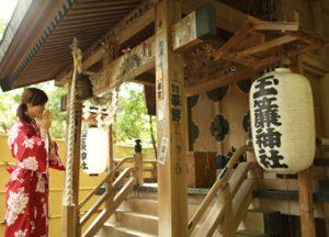玉簾神社,玉簾神社,the tamadare jinjia