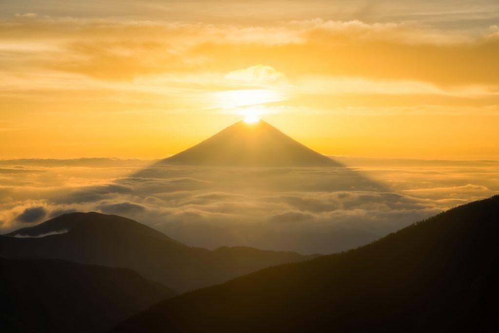 富士山, 鑽石富士