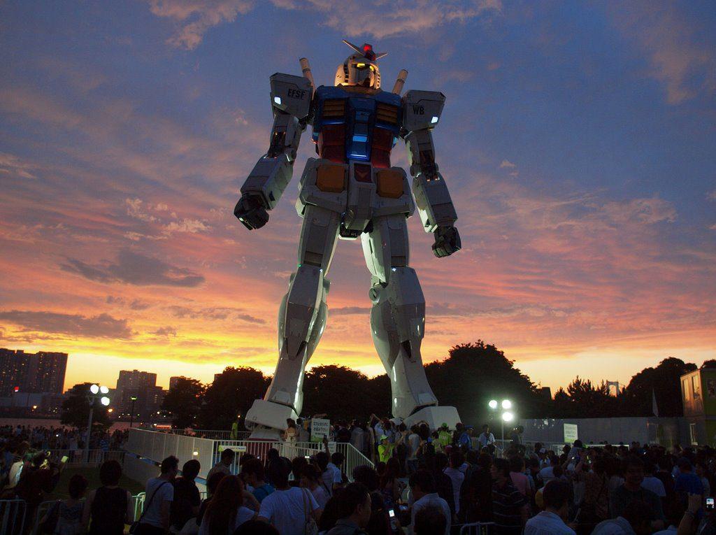 gundam_sunset