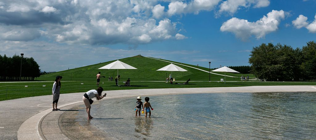 beach, Hokkaido, MOERENUMA PARK