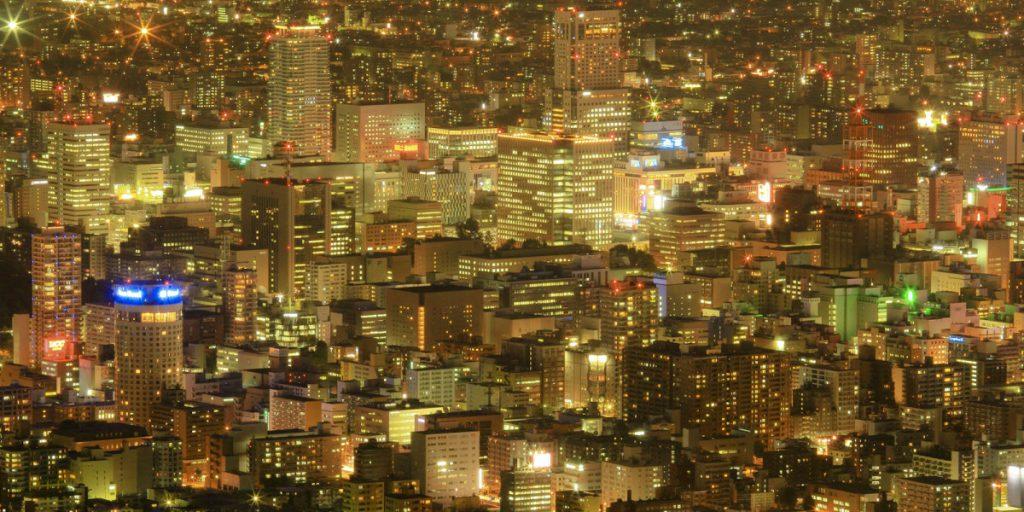 札幌, 夜景