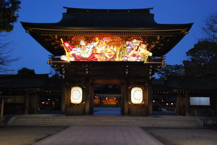 Attractions in Kanagawa神奈川县的景点之神社 神奈川縣的景點之神社 가나가와현의 명소