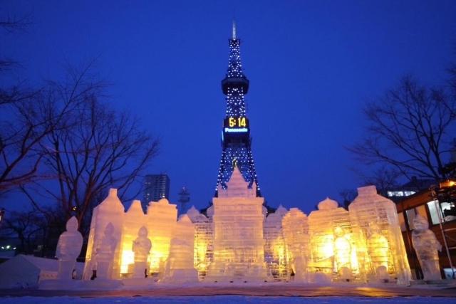 Hokkaido , snow, festival