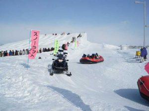 Tsudome會場, 滑雪場, 冰鵰, 雪鵰
