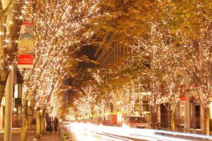 東京丸之內燈展,东京丸之内灯展,a illumination show in Tokyo Marunouchi